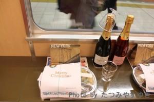 つどいクリスマス列車食事
