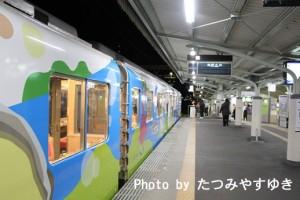 橿原神宮前駅入線